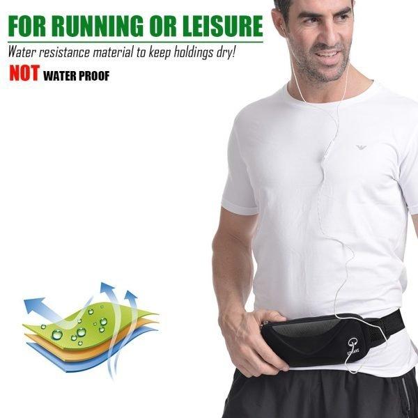 ushake men's running belt
