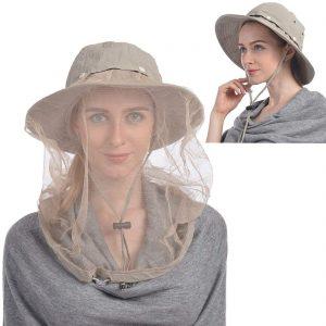 ushake hats with netting for bugs